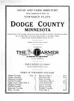 Title Page, Dodge County 1914